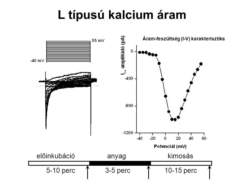 anyag 5-10 perc3-5 perc10-15 perc kimosáselőinkubáció Áram-feszültség (I-V) karakterisztika