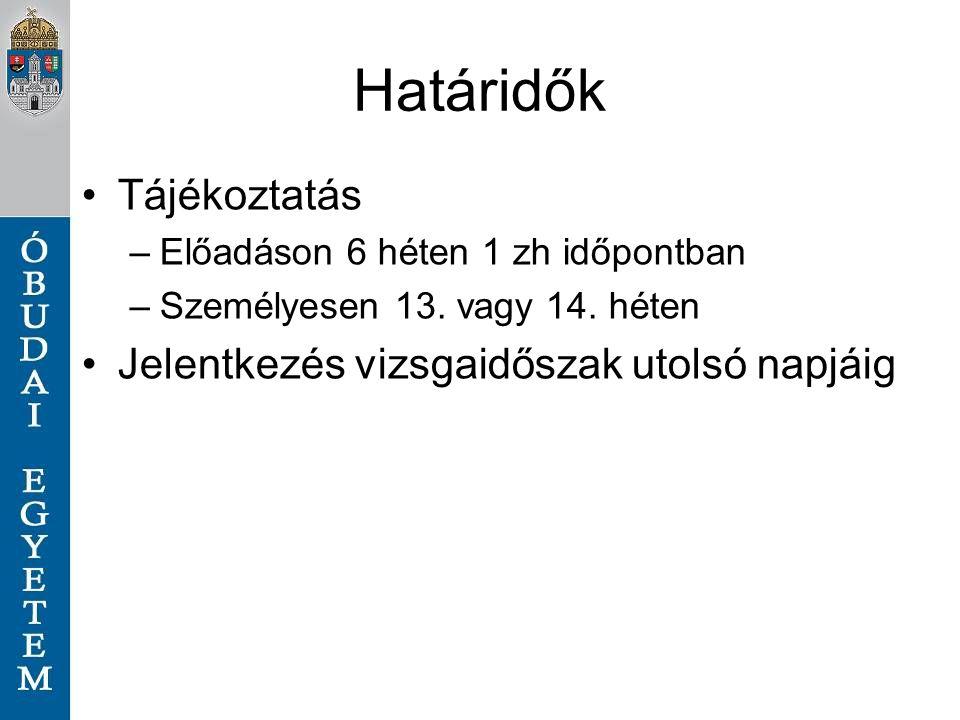 Kérdések kuti.janos@bgk.uni-obuda.hu varga.peter@bgk.uni-obuda.hu