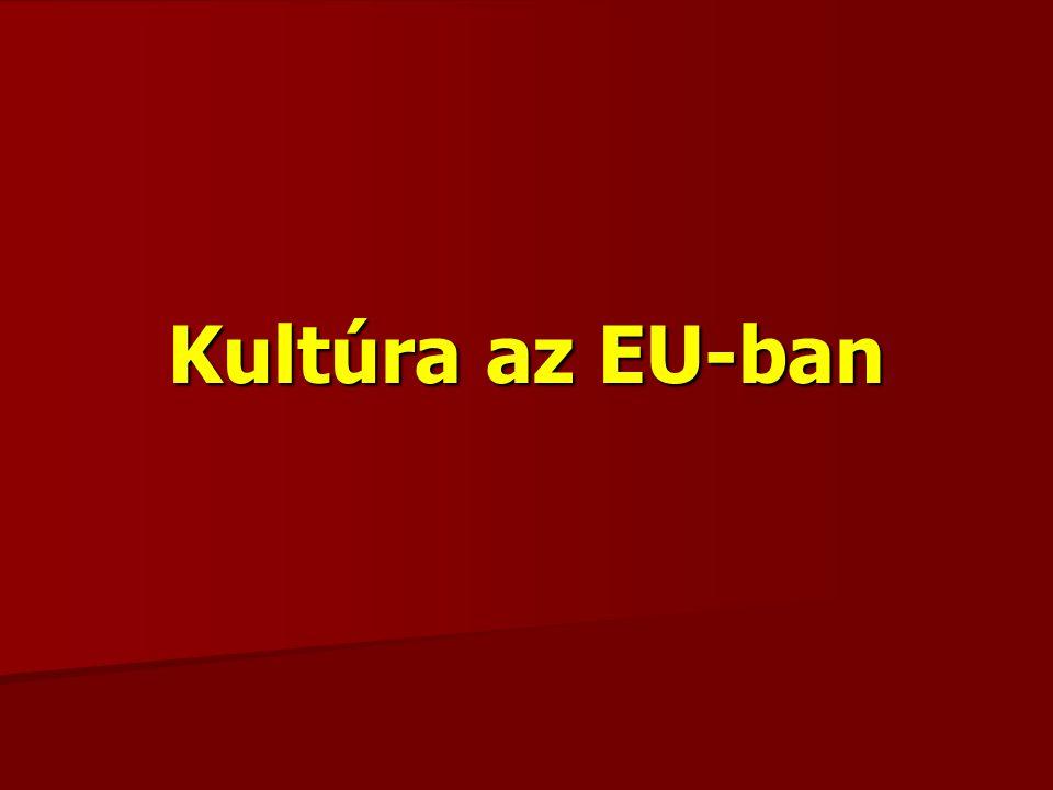 Kultúra az EU-ban