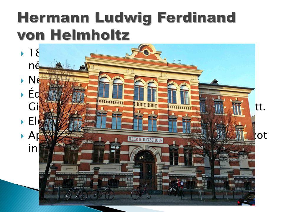  1821. augusztus 31-én született a németországi Potsdamban.