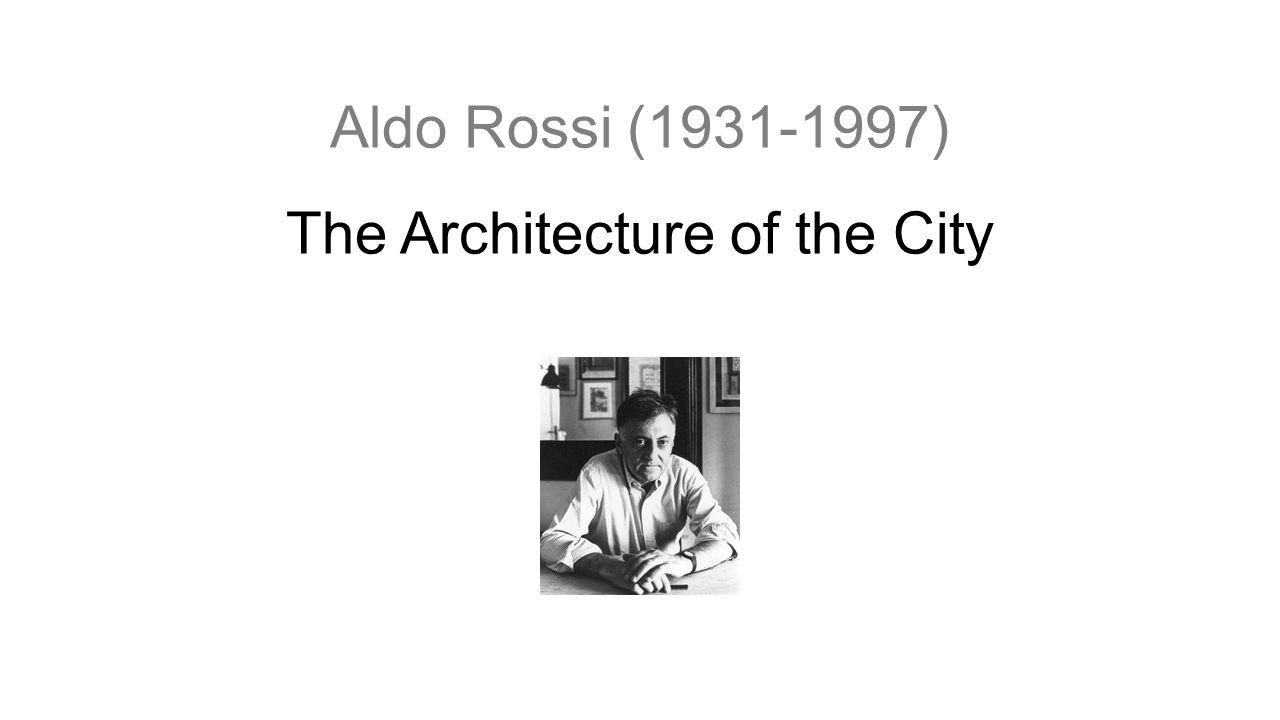 A műemlékek A városi kontextusban meghatározó elemek Fizikai jelei a múltnak A város dinamikus folyamata: inkább a fejlődés, mint a megőrzés felé tendál Elsődleges elem A műemlékek néha patologikusak, ahogy a jelentől elszigetelten állnak.