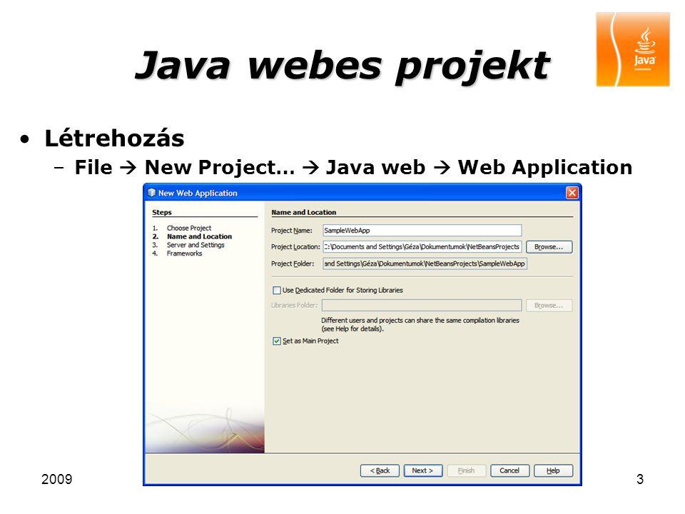 20094 Java webes projekt