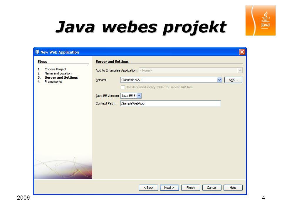 20095 Java webes projekt