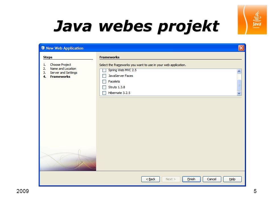 20096 Java webes projekt Web projekt Telepítés-leíró Kezdőlap Forrásfájlok Külső könyvtárak