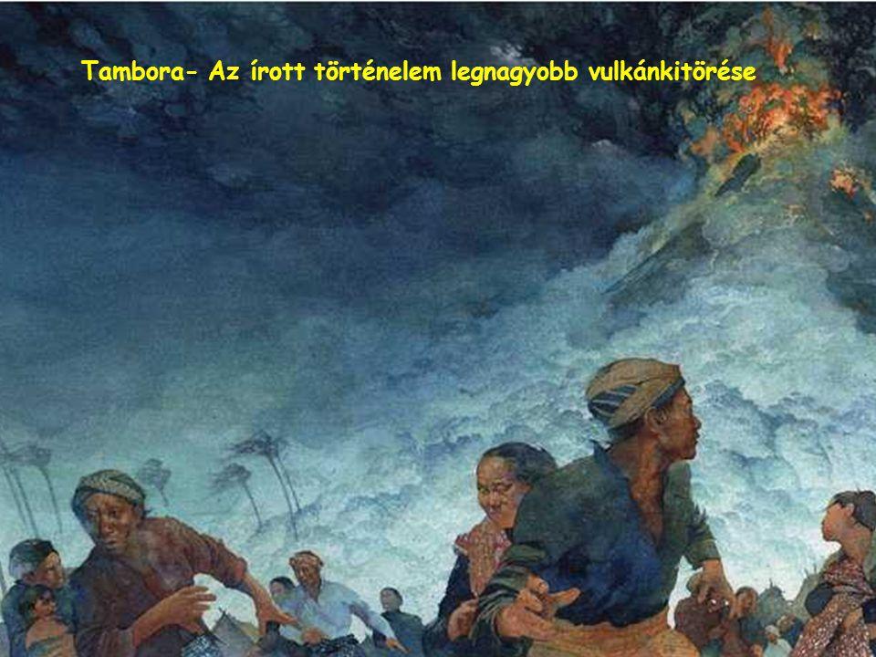 Ínségében sok indonéz a vulkánok isteneihez könyörög jobb életért.