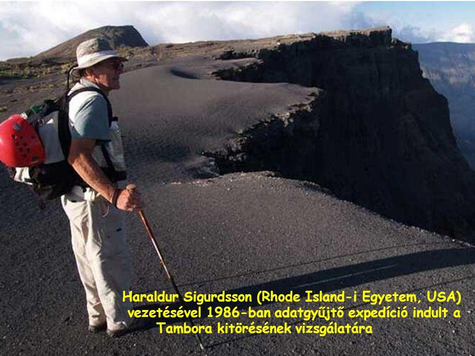 Tambora- Az írott történelem legnagyobb vulkánkitörése