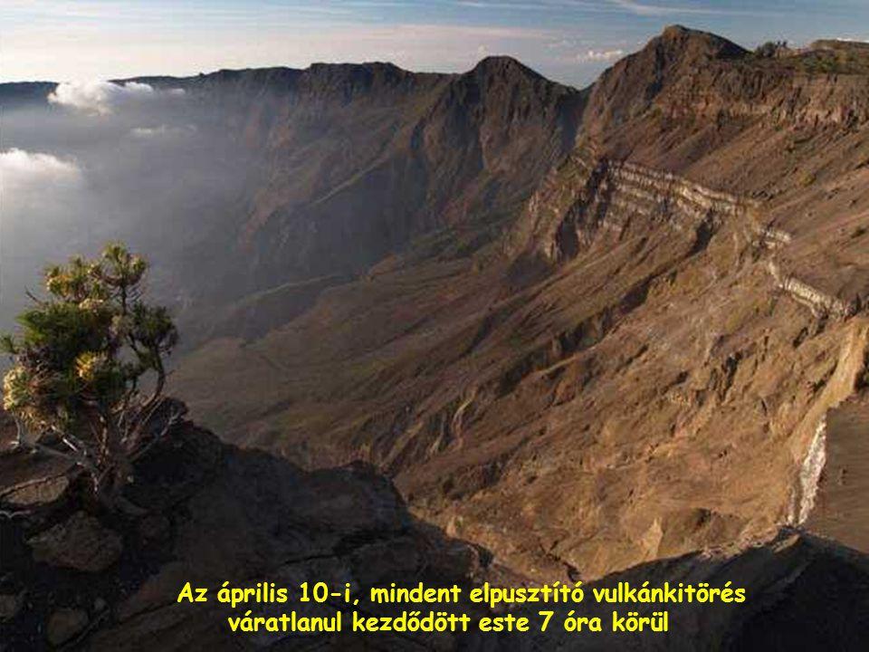 A vulkánok egyik pillanatról a másikra működésbe léphetnek