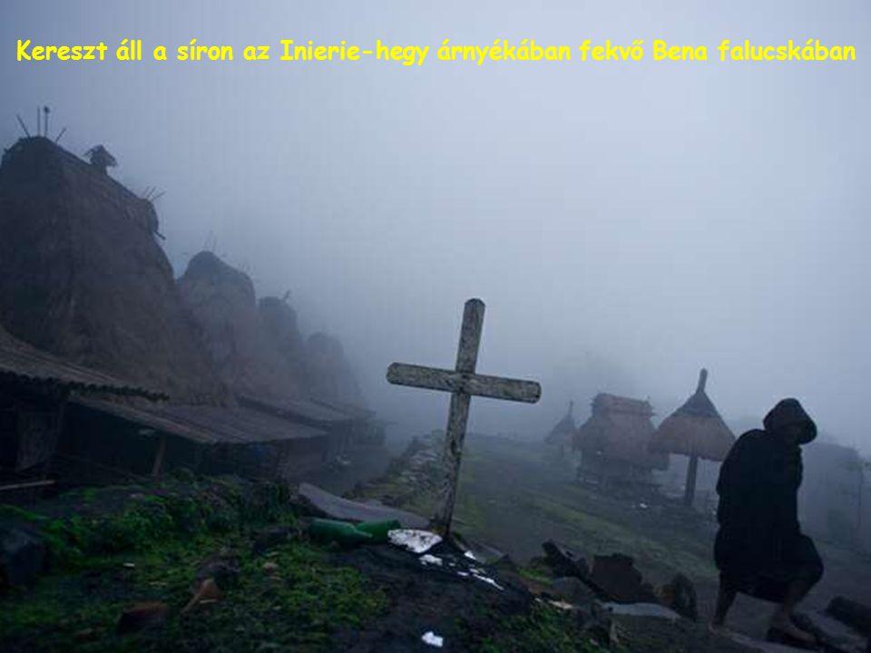 Falvak tarkállanak a Merapi-hegy lejtőin