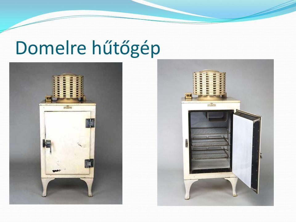 Működési elvek I.(Termodinamikai) Gőzkompressziós hűtőgép.