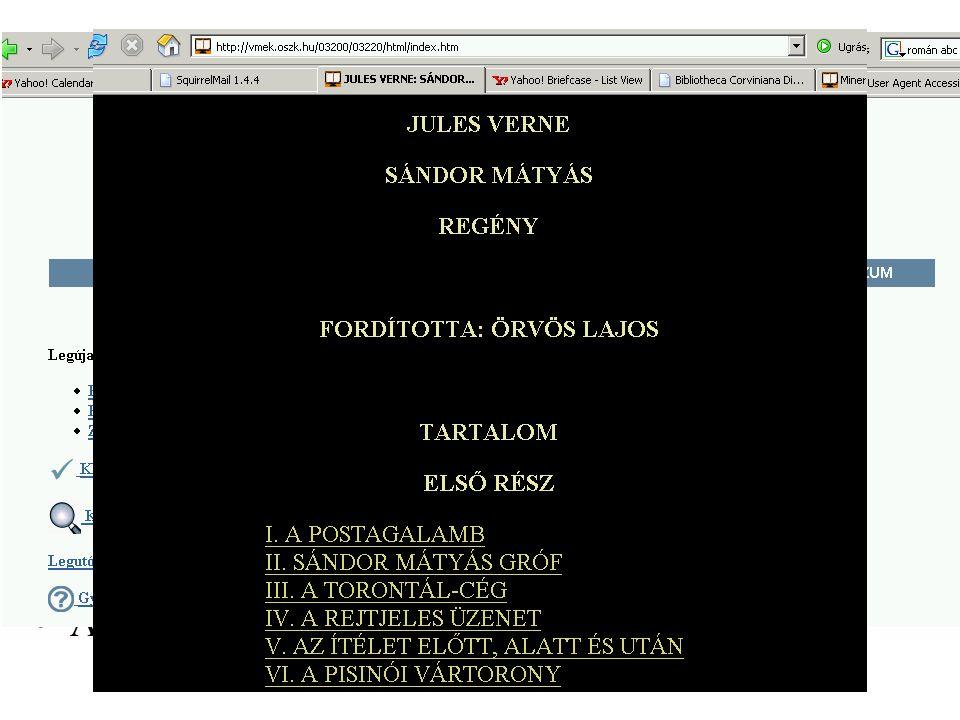 Hangoskönyvek - MVGYOSZ MVGYOSZ Hangoskönyvtár Hangkazetták - digitalizálás - digitális előállítás Tallózó - könyvismertetők Online szolgáltatás - tördelés - MP3MP3 Eddig 83 könyv - 835 óra