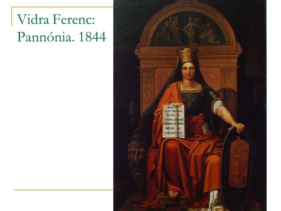 Vidra Ferenc: Pannónia. 1844