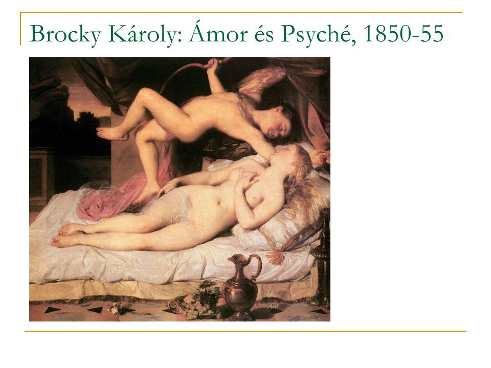 Brocky Károly: Ámor és Psyché, 1850-55