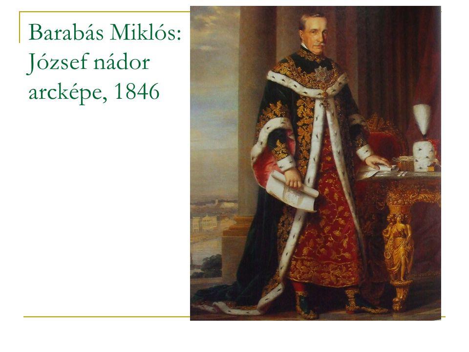Barabás Miklós: József nádor arcképe, 1846