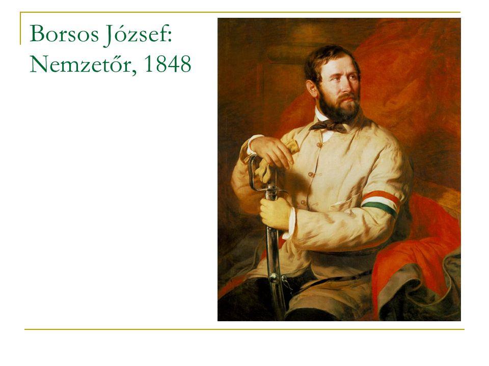 Borsos József: Nemzetőr, 1848