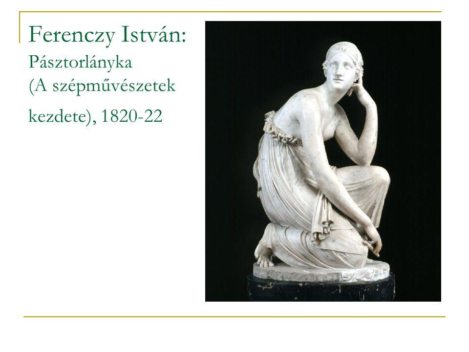 Ferenczy István: Pásztorlányka (A szépművészetek kezdete), 1820-22