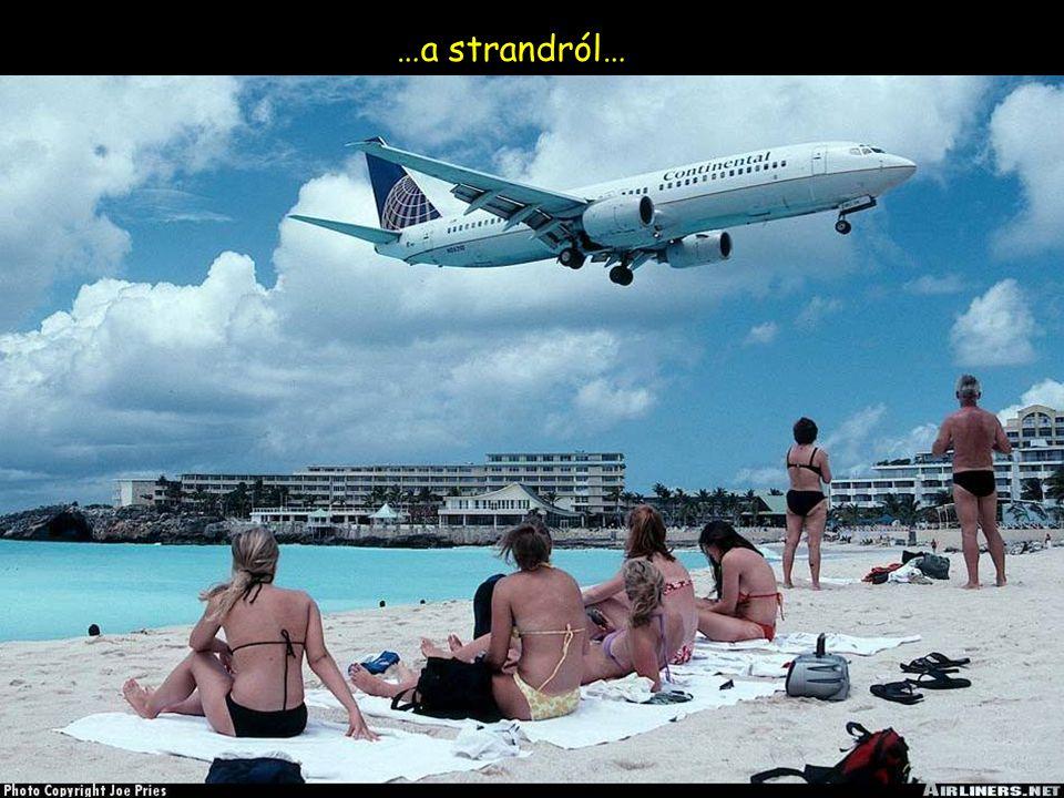…a strandról…
