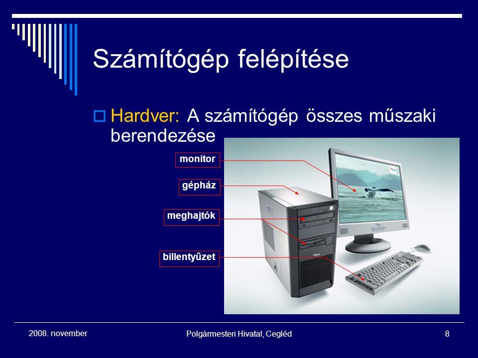 Polgármesteri Hivatal, Cegléd9 2008.