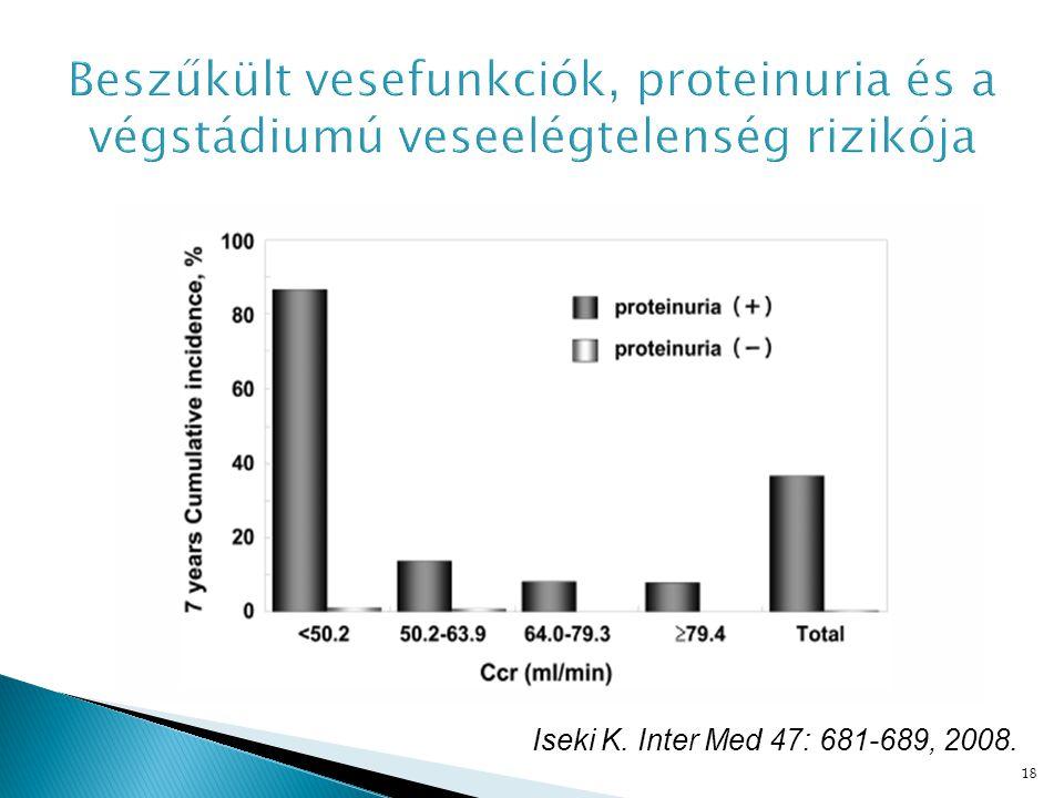 18 Iseki K. Inter Med 47: 681-689, 2008.