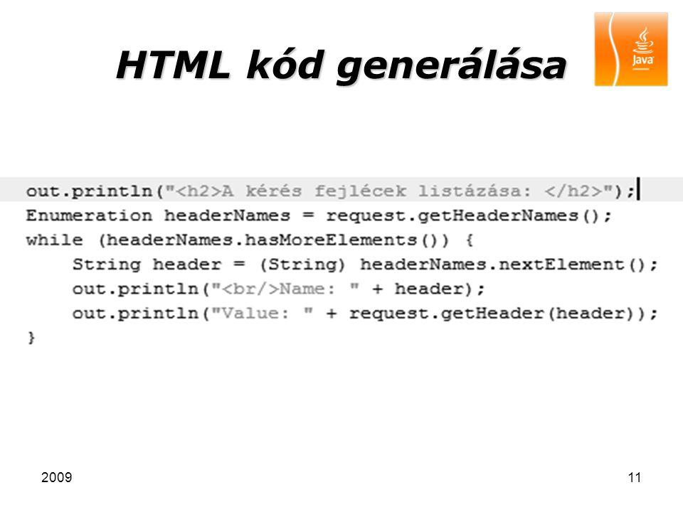 200911 HTML kód generálása