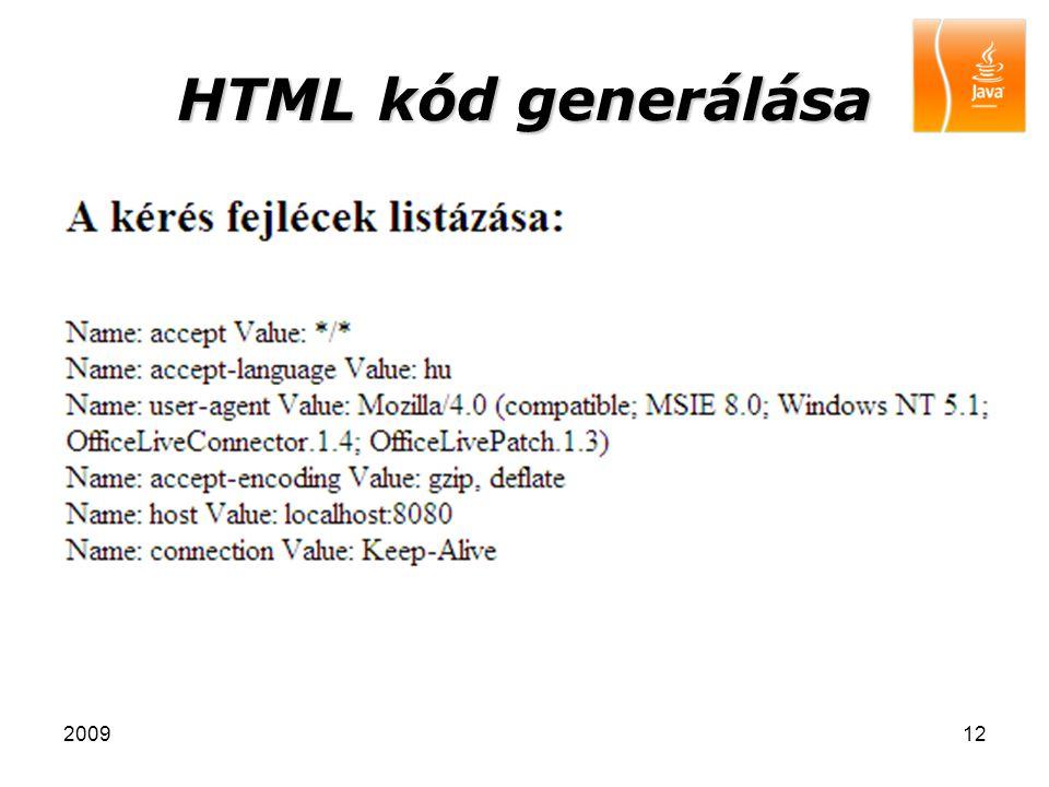 200912 HTML kód generálása