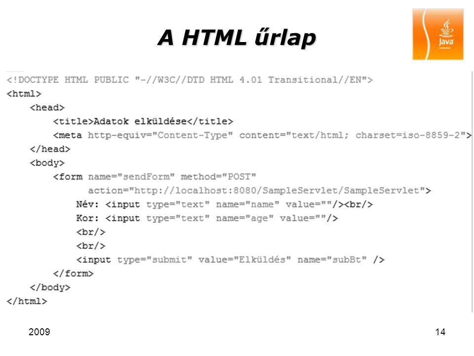 200914 A HTML űrlap
