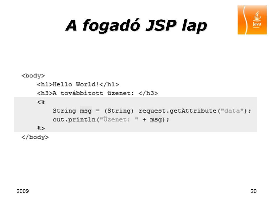 200920 A fogadó JSP lap