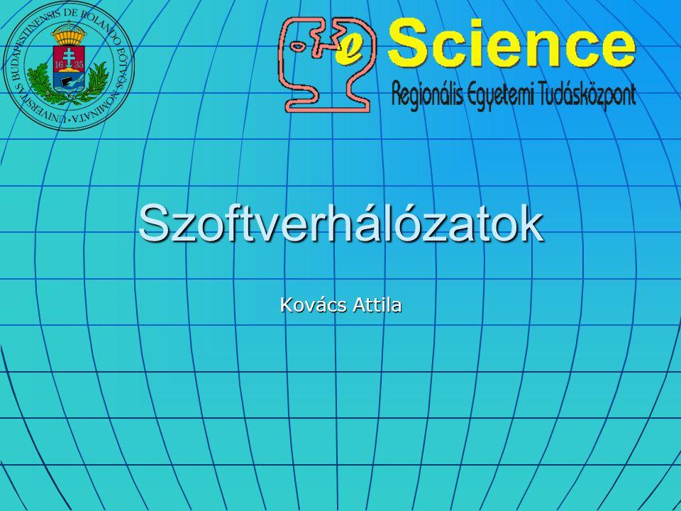 Szoftverhálózatok Kovács Attila