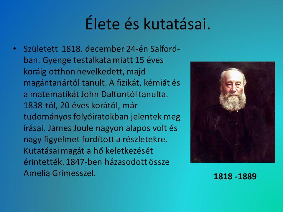Élete és kutatásai. Született 1818. december 24-én Salford- ban. Gyenge testalkata miatt 15 éves koráig otthon nevelkedett, majd magántanártól tanult.