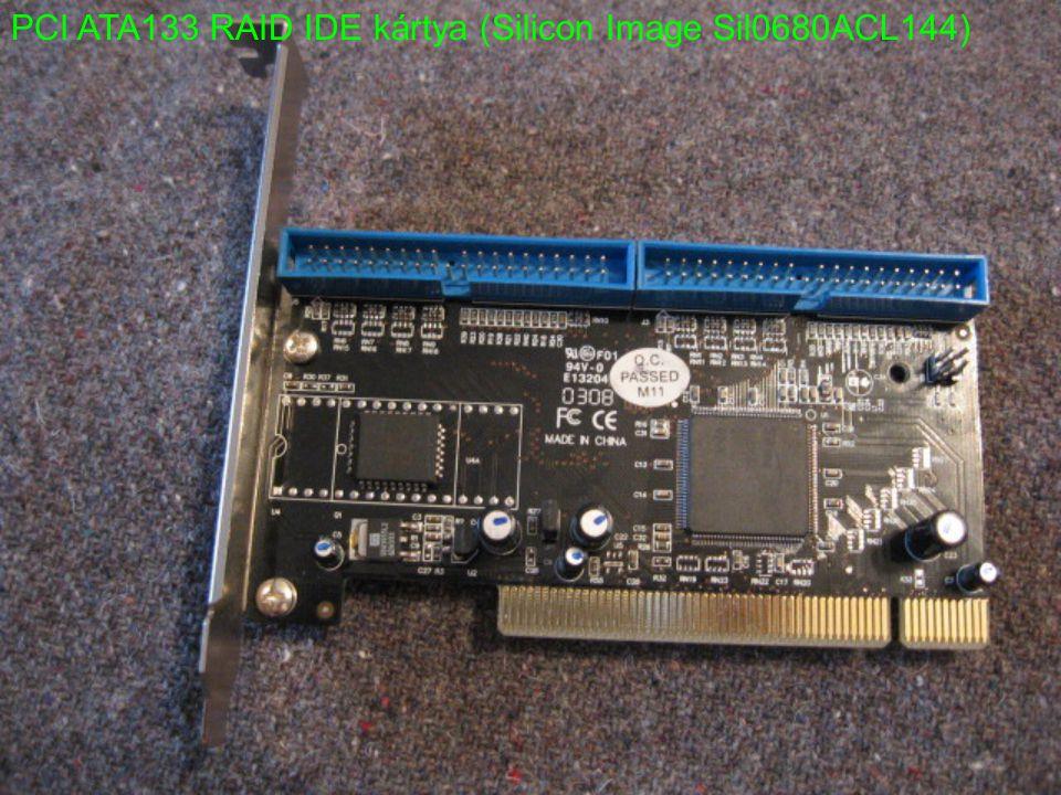PCI ATA133 RAID IDE kártya (Silicon Image Sil0680ACL144)