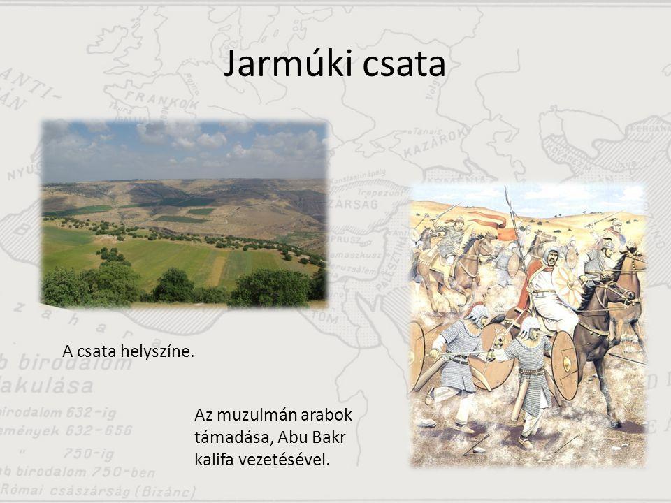 Kádiszíjai csata A dzsihád nevében harcoló muszlim katonák.