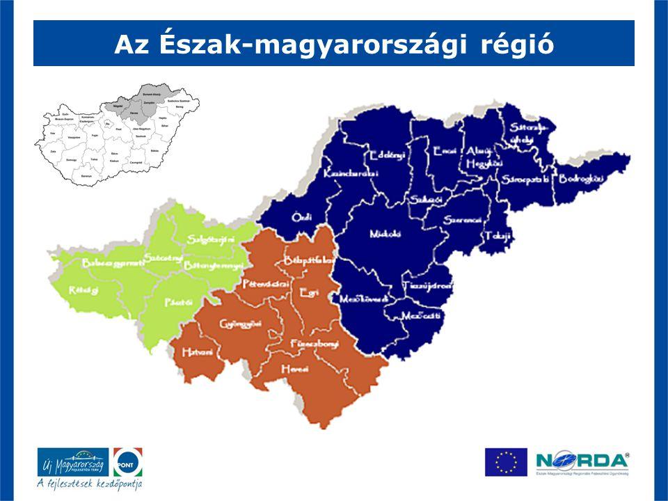 Az Észak-magyarországi régió