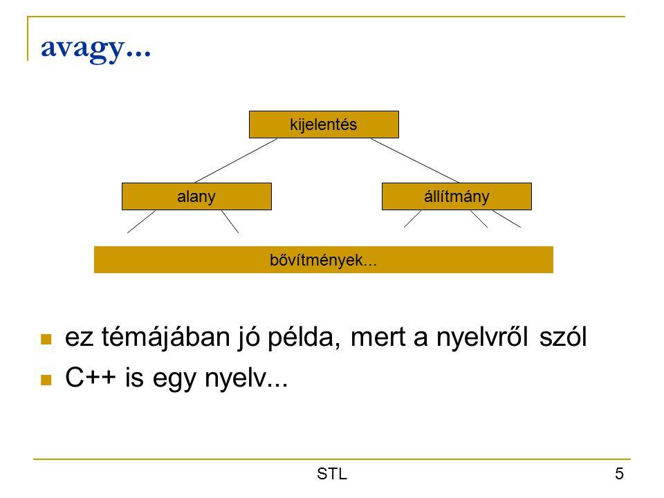 STL 5 avagy...kijelentés alanyállítmány bővítmények...