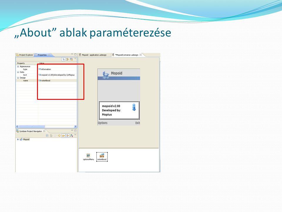 """About ablak paraméterezése"