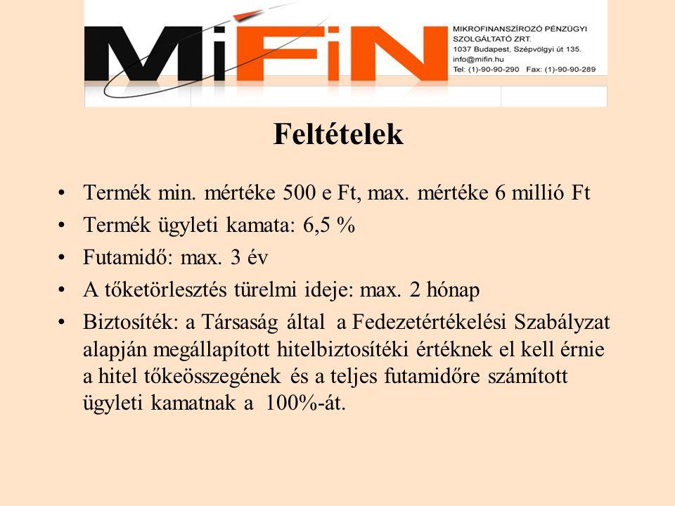 3.Fel nem számított díjak A MiFiN Mikrofinanszírozó Zrt.