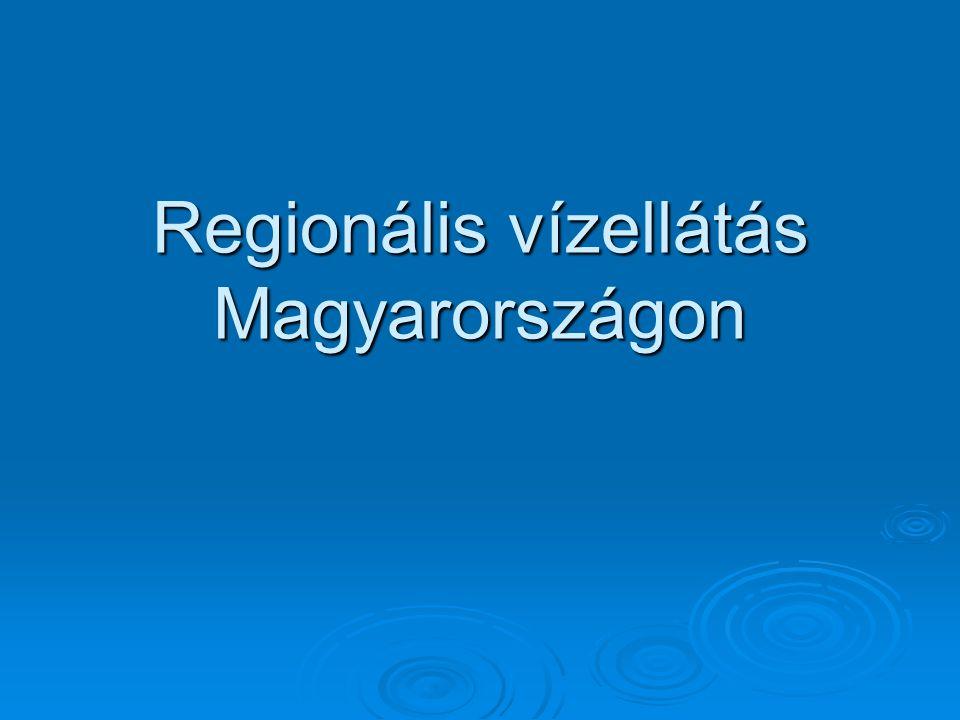 Regionális vízellátás Magyarországon