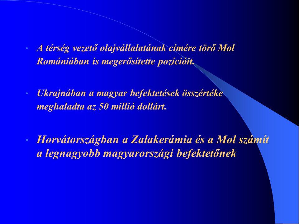 A térség vezető olajvállalatának címére törő Mol Romániában is megerősítette pozícióit.