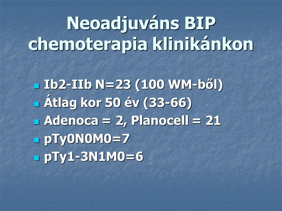 Protocol BIPBleomycin 30mg/12hrs 1.nap BIPBleomycin 30mg/12hrs 1.nap CDDP 50mg/m2 2.nap Ifosfamid 3 g/m2 3.nap Mesna 1g/m2 3* 3-hetente