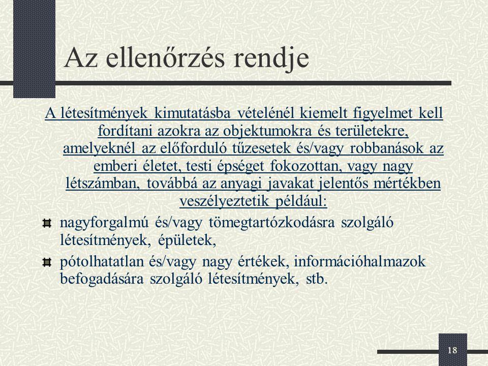 19 Nyilvántartott létesítmények Tömegközlekedési szolgáltatók Helyi közlekedési létesítmények (buszgarázsok, villamos kocsiszínek, javító, karbantartó üzemegységek, raktárbázisok) Magyar Államvasutak Zrt.