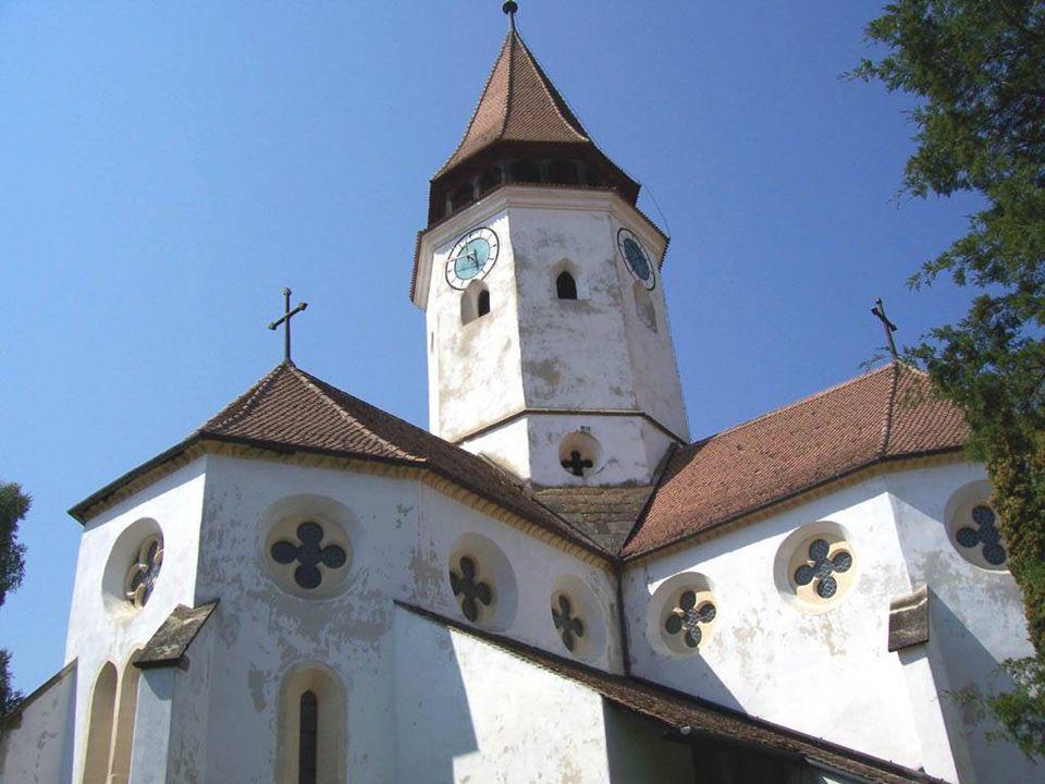 Az erdélyi szászok német anyanyelvű kisebbség Romániában. Szász lakosság települt a mai nevén Prázsmár területére. 1454-ben kapott mezővárosi rangotRo