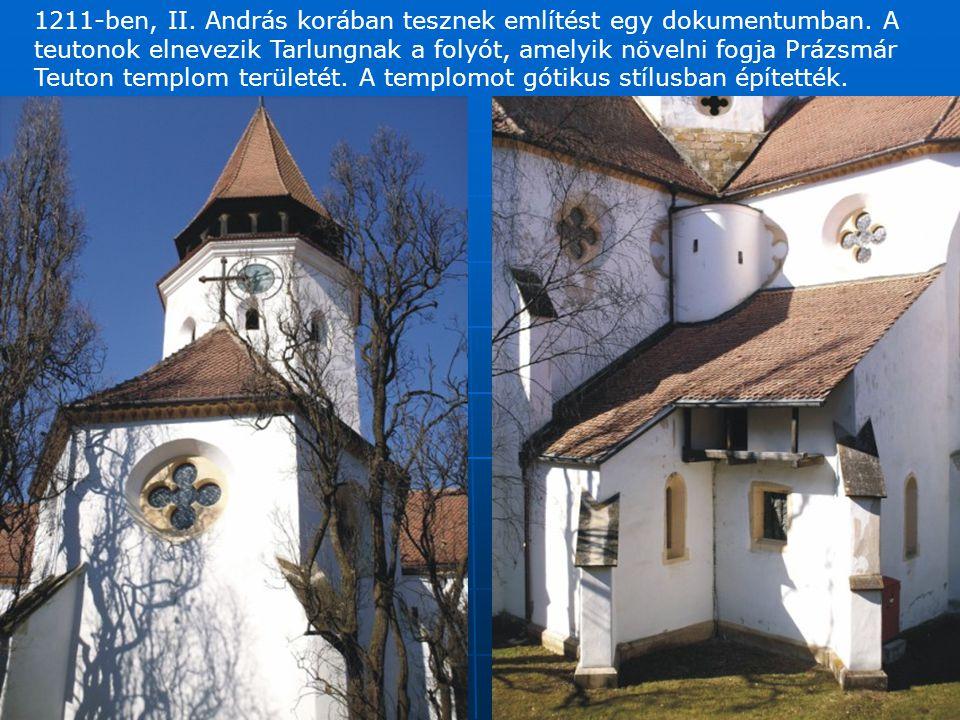 A legértékesebb a templomban a szárnyas oltárkép, amelynek készítési idejét 1450 körül datálják.