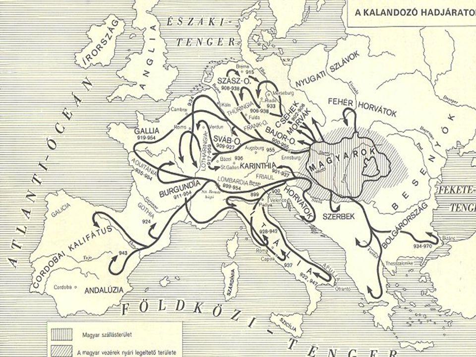 Kalandozások vége 933.Vereség Merseburgnál Madarász Henriktől933.
