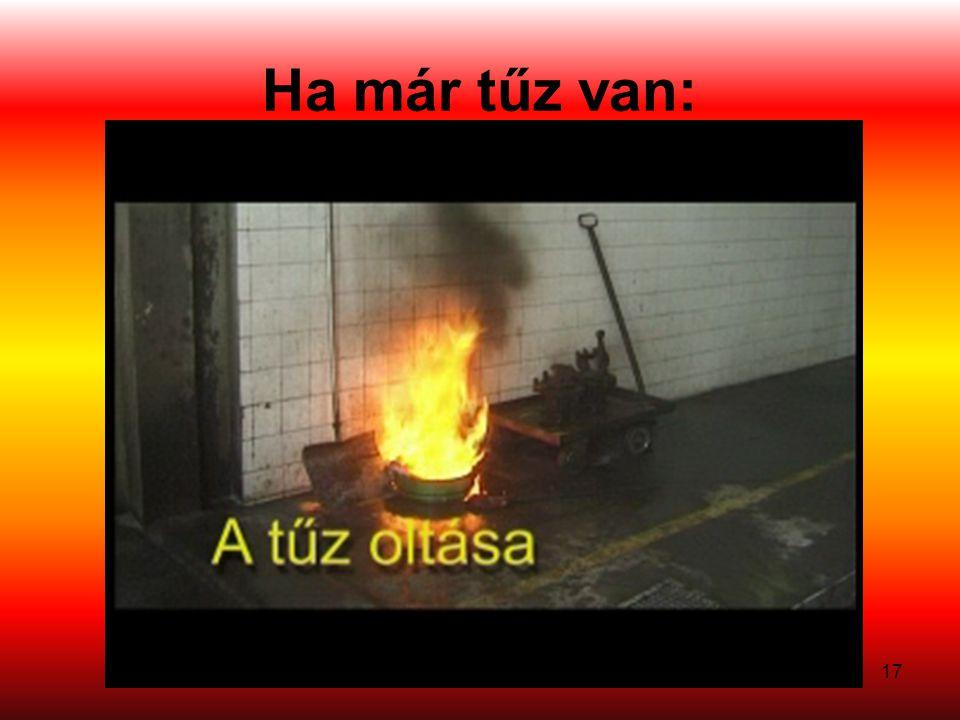 Ha már tűz van: 17