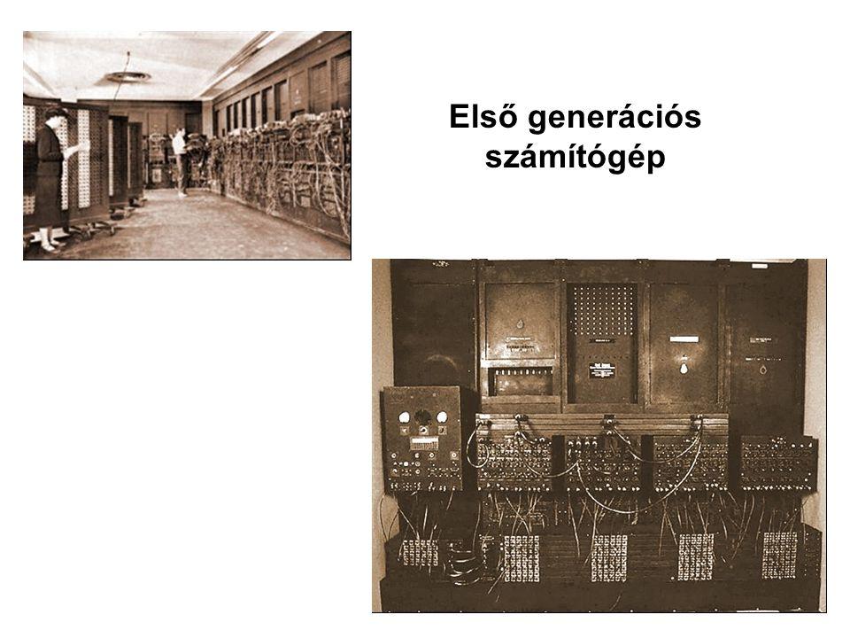 Első generációs számítógép