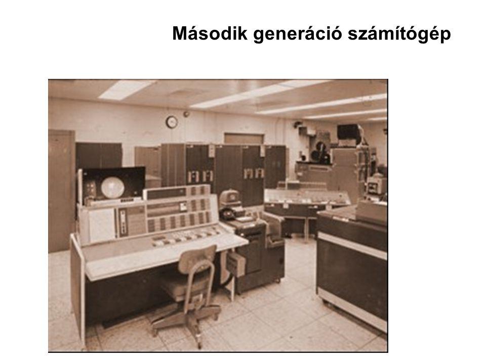 Második generáció számítógép