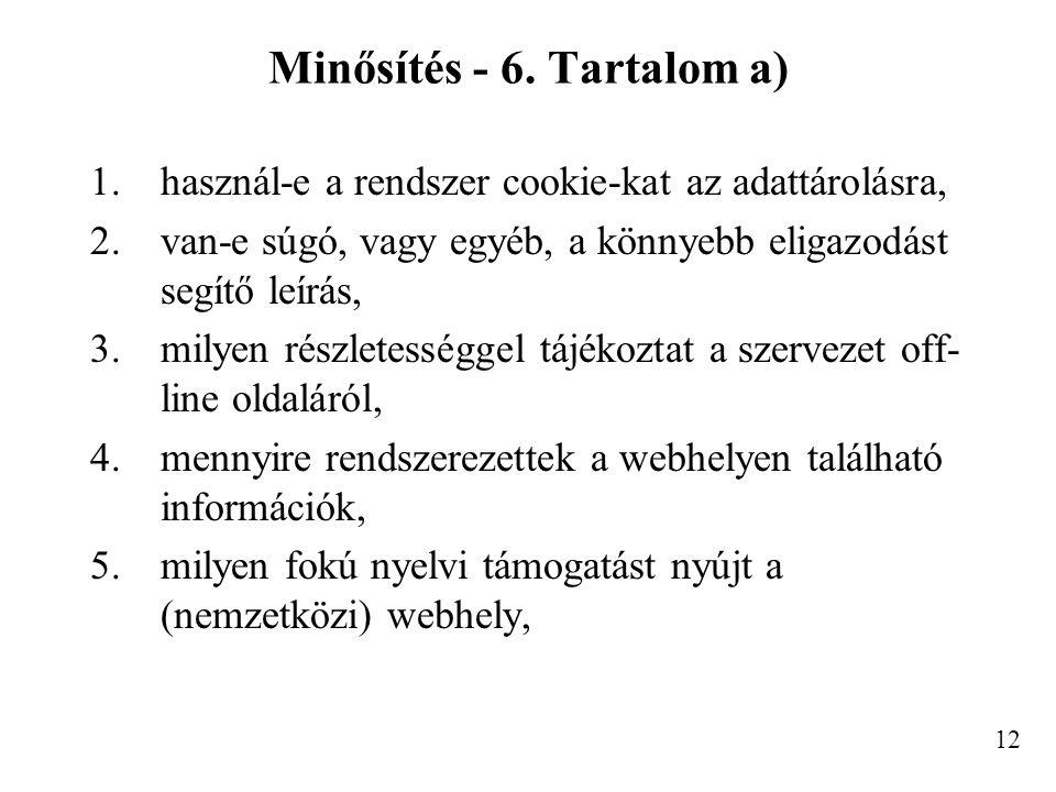 Minősítés - 6.