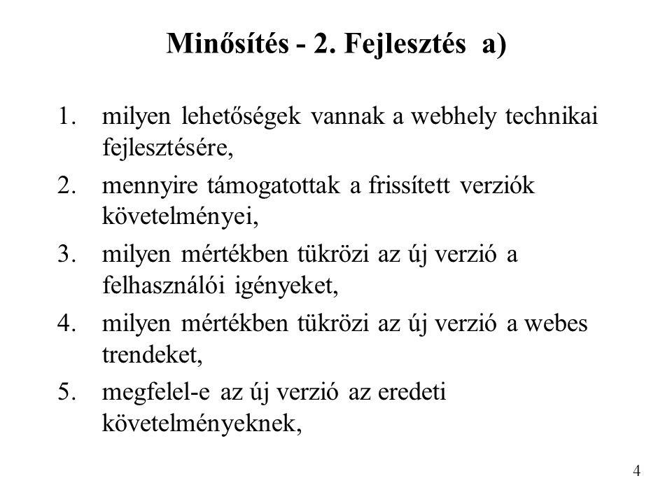Minősítés - 2.
