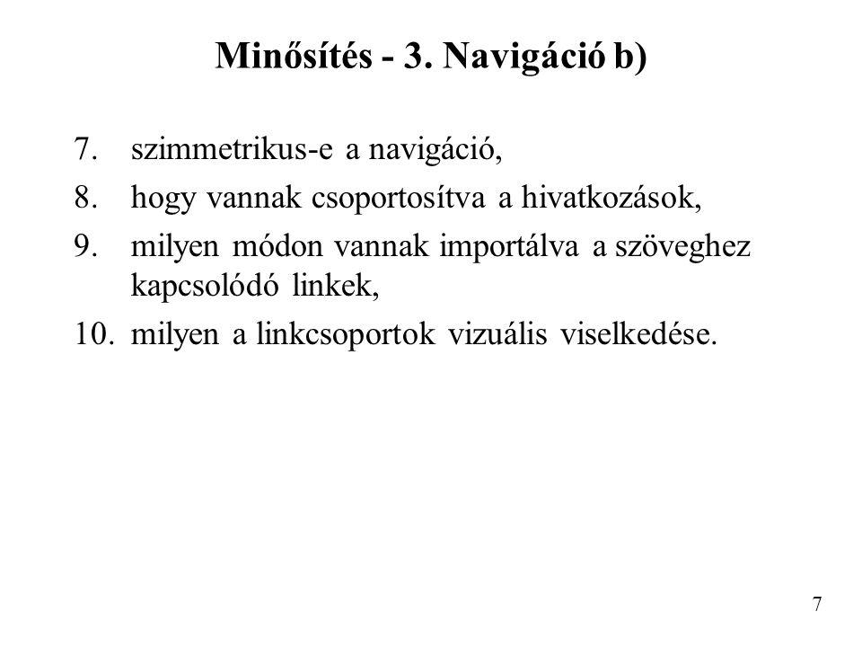Minősítés - 3.