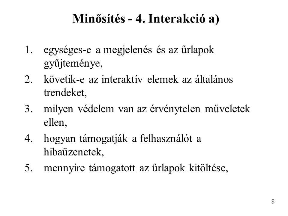 Minősítés - 4.