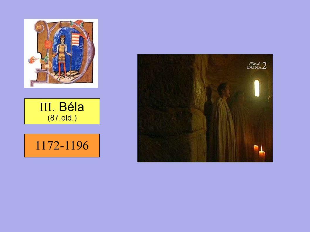 1172-1196 III. Béla (87.old.)