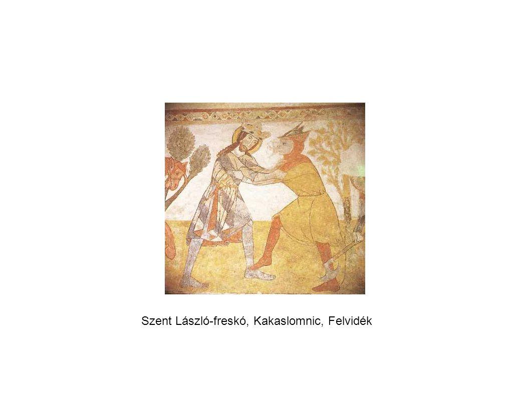 Szent László-freskó, Kakaslomnic, Felvidék